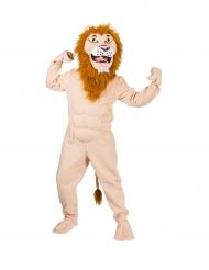 Kostume muskuløs løve til voksne