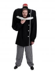 Mand med afhugget hoved - Halloween kostume til voskne
