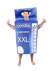 Kostume kondom pakke til voksne