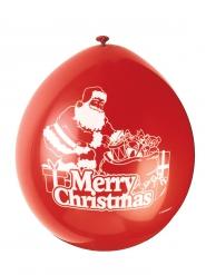 Balloner 10 stk. Merry Christmas 23 cm