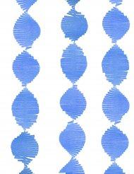 Frynse guirlande blå 2.74m