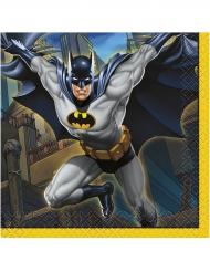 16 Små Papirservietter Batman™ 25 x 25 cm