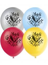 8 Latexballoner Batman™ 30 cm