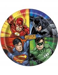Tallerkener 8 stk. Justice League™ 23 cm
