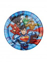 Tallerkener 8 stk. Justice League™ 18 cm