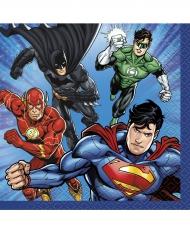 Servietter 16 stk. Justice league™. 25x25 cm