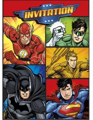 Invitation 8 stk. Justice league™
