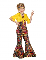Kostume disco hippie til børn