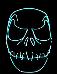 Maske med neonlys