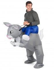 Kostume oppustelig kanin