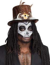 Hat voodoo med hår til voksne