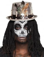 Tophat voodoo grå til voksne