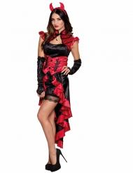Kostume gotisk dæmon til kvinder Halloween