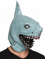 Maske haj i latex til voksne