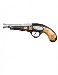 Pistol med lyd pirat 28 cm