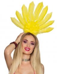 Hovedbeklædning brasiliansk gul til kvinder