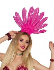 Hovedbeklædning brasiliansk rosa til kvinder
