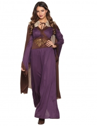 Kostume kvinde fra norden lilla
