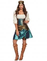 Kostume metallisk gypsy til kvinder