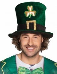 Tophat trekløver til voksne St. Patrick