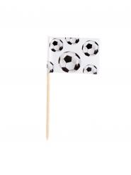 Snackpinde 24 stk football