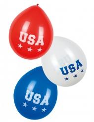 6 Balloner USA 25 cm