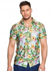 Skjorte Hawaii paradis til voksne
