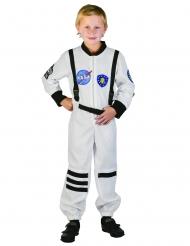 Kostume astronaut hvid til børn