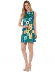 Miss Scrabble™ kostume til kvinder