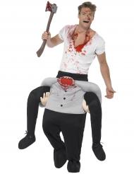 Kostume Carry Me ridende på mand uden hoved til voksne Halloween