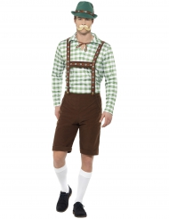 Kostume bayerske lederhosen til voksne