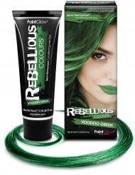 Semipermanent hårfarve grøn