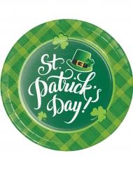 8 Paptallerkener St. Patrick