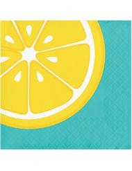 Servietter 16 stk. med citron