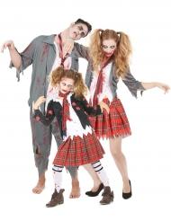 Familiekostume Zombie Halloween