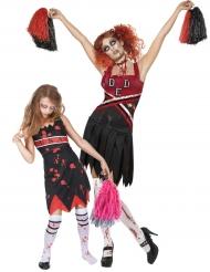 Parkostume mor og datter zombie cheerleaders Halloween