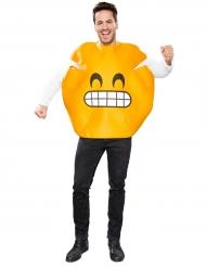 Kostume smiley grimasse til voksne