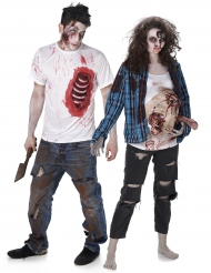 Parkostume Zombie trash Halloween
