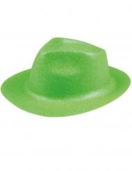 Hat glimmer neon grøn til voksne