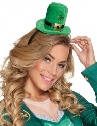 Mini-hat tophat med gyldent spænde Saint Patrick