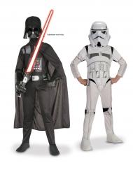 Pakke med Darth Vader og Stoormtrooper fra Star Wars™ til børn