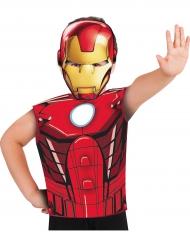 T-shirt og maske Iron Man™ til børn