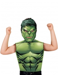 T-shirt og maske Hulk™ til børn