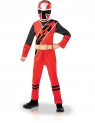 Kostume klassisk Power Ranger™ til børn Ninja Steel rødt