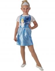 Kjole med tiara Askepot™ til børn