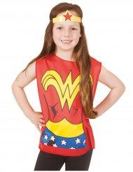T-shirt og krone Wonder Woman™ til børn