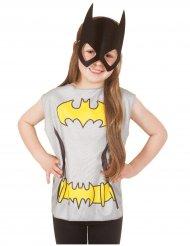 T-shirt og maske Batgirl™ til børn