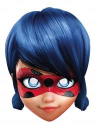 Maske karton Miraculous Ladybug™ til børn