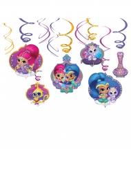 6 hængende dekorationer med Shimmer & Shine™