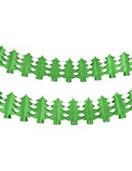 Guirlande grønt juletræ 4.5m